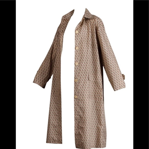 7515816b9 Gucci Jackets & Blazers - Vintage women's Gucci horsebit raincoat and bag